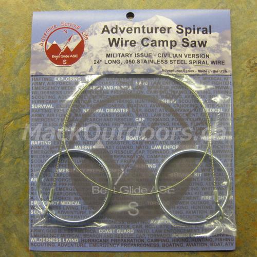 Best Glide Adventurer Spiral Wire Camp Saw