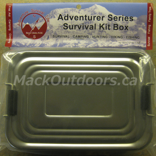 Best Glide Adventurer Survival Kit Box