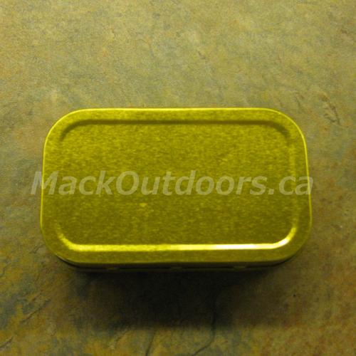 Best Glide Small Empty Survival Kit Tin