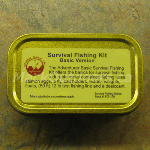 Best Glide - Basic Emergency Survival Fishing Kit