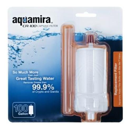 Aquamira - Filtered Water Bottle CR-100 Capsule Filter