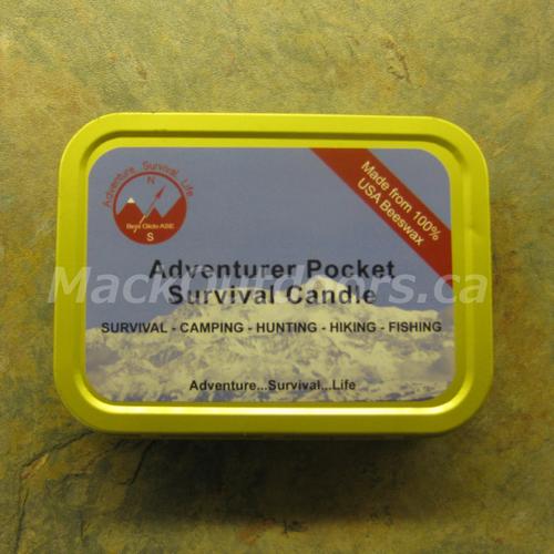Best Glide - Adventurer Pocket Survival Candle