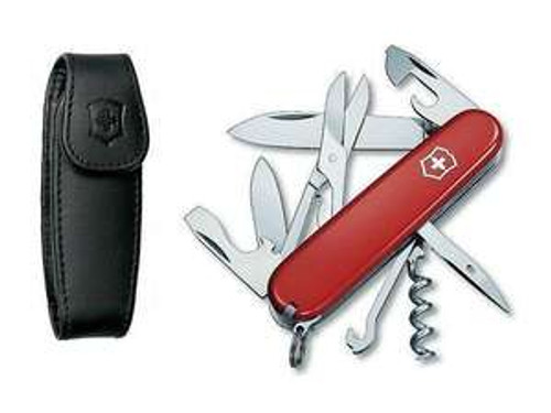 Victorinox Climber with Pouch (Red)