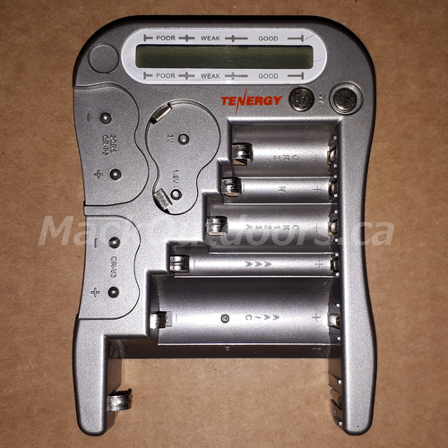 Tenergy Universal Battery Checker For 12 Types