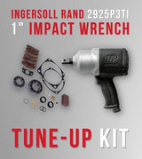 """How To Disassemble And Repair Ingersoll Rand 2925P3TI 1"""" Impact Wrench with 2925B-TK2 Tune-up Kit [Video]"""