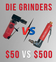 Air Die Grinders - the $50 versus the $500 model, what's the difference? [Guide]