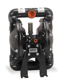 "ARO Diaphragm Pump 666100-244-C | 35 GPM | 1"" Ports | Teflon/PTFE Diaphragms"