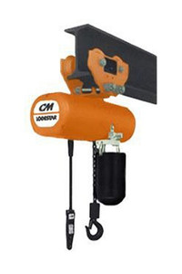 "CM 635 Low Headroom Manual Hoist Trolley | 3569| 2 Ton | 3-3/8"" - 6"" Flange Width"