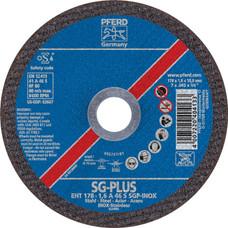 "PFERD .045 Type 1 Flat Cut-off Wheel   Special Line SG-PLUS   63667   7"" Diameter"