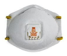 3M 142-8511 N95 Particulate Respirator | Half Facepiece | Two Fixed Straps | (Box of 10)