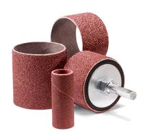 """United Abrasives 42027 Spiral Sanding Bands   1"""" x 1""""   36 Grit   Aluminum Oxide (Box of 100)"""