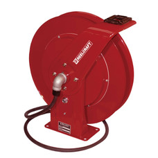 Reelcraft WC7000 Welding Cable Hose Reel | 400 Amp | 50 Ft. Cable Capacity | Spring Driven