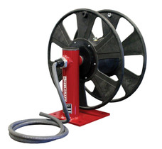 Reelcraft T-1460-0 Welding Cable Hose Reel | 250 Amp | 250 Ft. Cable Capacity | Single Hand Crank