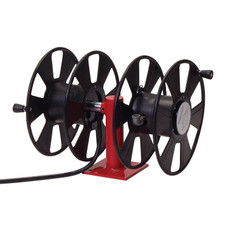 Reelcraft T-2462-0 Welding Cable Hose Reel | 250 Amp | 250 Ft. Cable Capacity | Dual Hand Crank/Side-by-Side