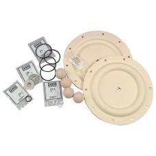 "ARO 637161-22-C Fluid Section  Repair Kit for 1"" Pro Diaphragm Pump"