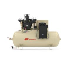 Ingersoll Rand 15TE20-P Reciprocating Air Compressor | 45466273 | 20 HP | 200 Volts | 3 -Phase | 72 ACFM | 175 PSI | 120 Horizontal Gallon Tank