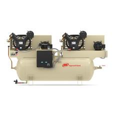 Ingersoll Rand 2-2475E5-P Reciprocating Air Compressor | 45465382 | 5 HP | 230 Volts | 3 -Phase | 16.8 ACFM | 175 PSI | 120 Horizontal Gallon Tank