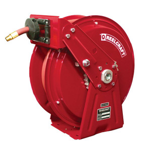 3000 Psi Reelcraft A5835 OMP Premium Duty Spring Retractable Hose Reel 1//2 x 35 Oil Hose Included 1//2 x 35/'