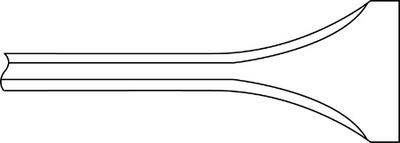 Ingersoll-Rand WF-14F-7 Narrow Scaling Chisels