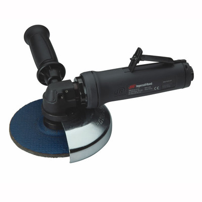 "Ingersoll Rand G3A100RP106 G3 Series Angle Grinder | 1.35 HP | 10,000 RPM | 5/8"" - 11 Thread, 6"" Guard 