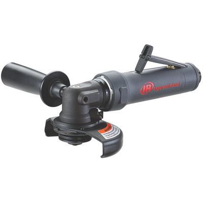 """Ingersoll Rand M2A120RP1045 M2 Series Angle Grinder   1 HP   12,000 RPM   5/8"""" - 11 Thread   Rear Exhaust"""