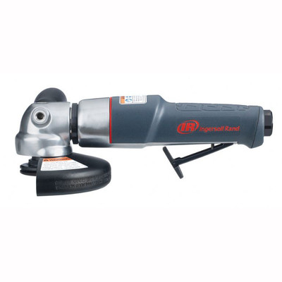 """Ingersoll Rand 3445MAX Right Angle Grinder   0.88 HP   12,000 RPM   5/8"""" - 11 Thread   Rear Exhaust"""