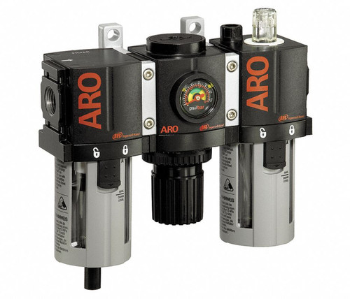 """ARO C38331-801 3/8"""" Relieving FRL 