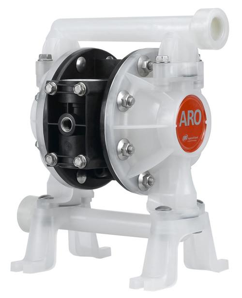 "ARO | PD05P-ARS-PCC-B | 1/2"" Plastic Diaphragm Pump (Hytel) | 14 GPM"