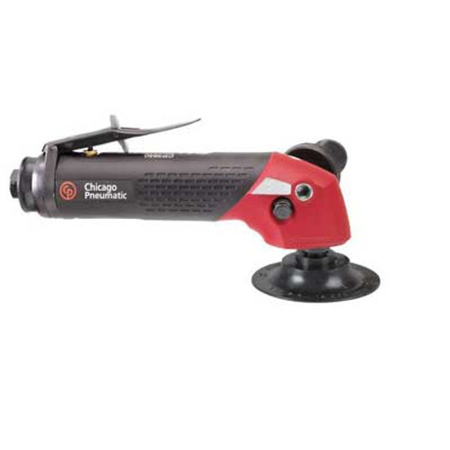 """Chicago Pneumatic CP3650-135AC4SE 4"""" Angle Sander   2.4 HP   3/8"""" Air Inlet   3/8"""" - 24 Thread   13,500 RPM"""