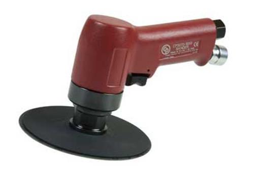 """Chicago Pneumatic CP3070-120G 5"""" Pistol Sander   0.50 HP   1/4"""" Air Inlet   3/8"""" - 24 Thread   12,000 RPM"""