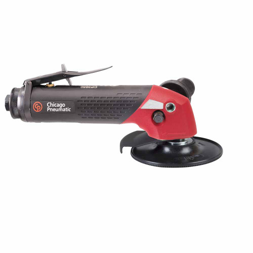 """Chicago Pneumatic CP3650-120AB 5"""" Angle Sander   2.4 HP   3/8"""" Air Inlet   5/8"""" - 11 Thread   12,000 RPM"""