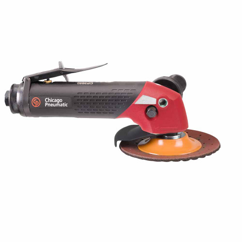 """Chicago Pneumatic CP3650-085AB 7"""" Angle Sander   2.4 HP   3/8"""" Air Inlet   5/8"""" - 11 Thread   8,500 RPM"""