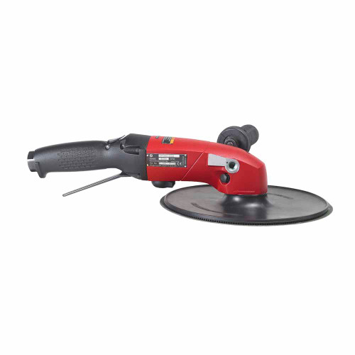 """Chicago Pneumatic CP3850-60AB 9"""" Angle Sander   2.8 HP   1/2"""" Air Inlet   5/8"""" - 11 Thread   6,000 RPM"""
