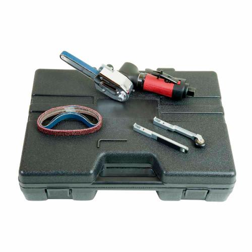 """Chicago Pneumatic CP5080-3260D12K 12"""" Belt Sander   0.40 HP   1/4"""" Air Inlet   26,000 RPM"""