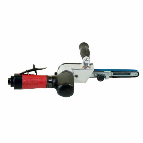 "Chicago Pneumatic CP5080-4200H18 18"" Belt Sander   0.54 HP   1/4"" Air Inlet   20,000 RPM"