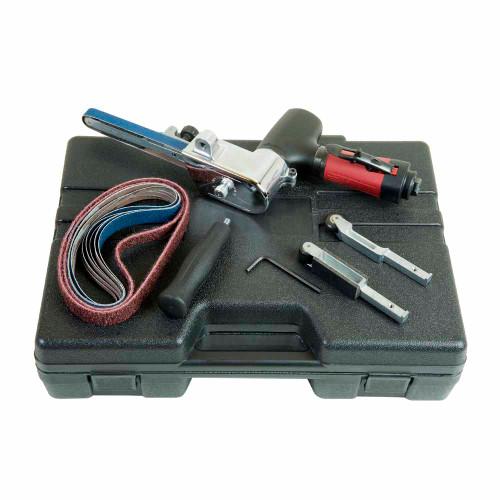 "Chicago Pneumatic CP5080-4200H18K 18"" Belt Sander   0.54 HP   1/4"" Air Inlet   20,000 RPM"
