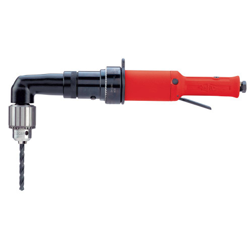 """Sioux Tools 3A1140 Large Right Angle Non-Reversible Drill   1 HP   360 RPM   1/2""""-20 Spindle Thread"""