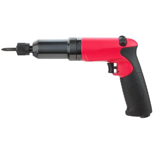 Sioux Tools SSD6P12AC Adjustable Clutch Pistol Grip Screwdriver | 0.6 HP | 1200 RPM | 100 in.-lb. Max Torque