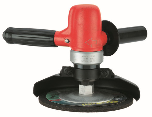 Sioux Tools 1291 Vertical Type 27 Wheel Grinder | 1 HP | 6000 RPM | 5/8-11 Spindle Thread