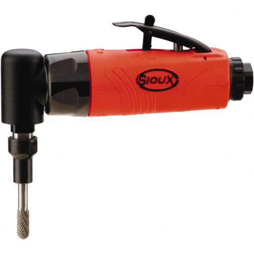 Sioux Tools SAG03S12M6S Right Angle Die Grinder | 0.3 HP | 12000 RPM | 300 Series Collet | Rear Exhaust