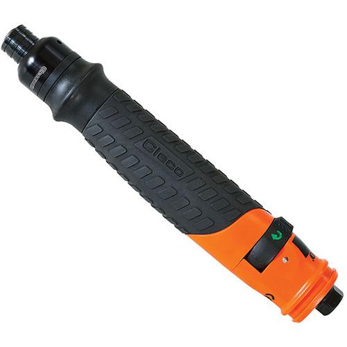 "Cleco 19BPA02Q Push Button Reverse Inline Pneumatic Screwdriver | 19 Series | Push-to-Start | 2,300 RPM | 1/4"" Quick Change Drive"
