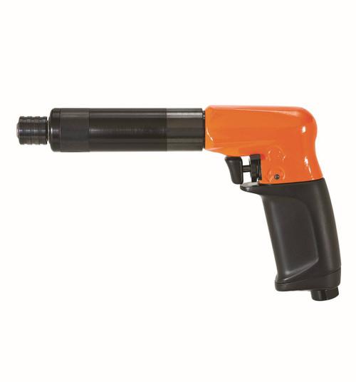 Cleco 19PCA04Q Pistol Grip P-Handle Pneumatic Screwdriver   19 Series   Push and Trigger Start   1,100 RPM
