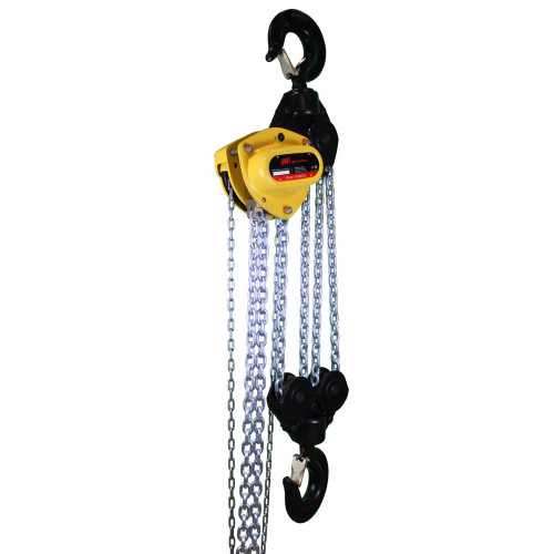 Ingersoll Rand KM150V-30-28 | 1.5 Ton Capacity Manual Chain Hoist Overload