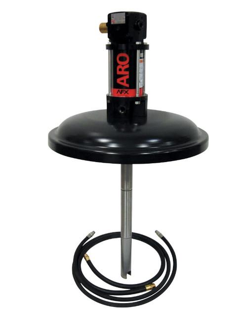 "Ingersoll Rand ARO DC060BL43PKL1C11 Grease Pump Package | 16 Gallon Drum Cover | 4"" Stroke | 100:1 Pump Pressure Ratio"