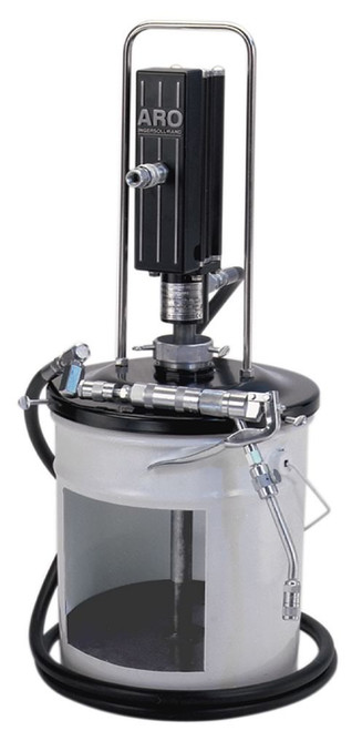 "Ingersoll Rand ARO LP3005-1 Piston Grease Pump Package | LP Series | 3"" Air Motor 400 lb | 50:1 Pump Pressure Ratio"