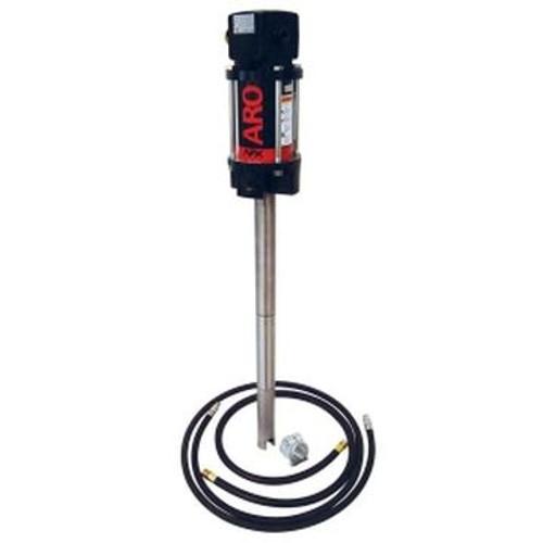 "Ingersoll Rand ARO DM0450L53PKL1000 Grease Pump Package | 55 Gallon Drum Mount | 4"" Stroke | 50:1 Pump Pressure Ratio"
