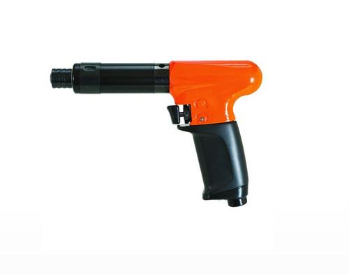 Cleco 19TCA04Q T-Handle Pistol Grip Pneumatic Screwdriver   Push and Trigger Start   1,100 RPM