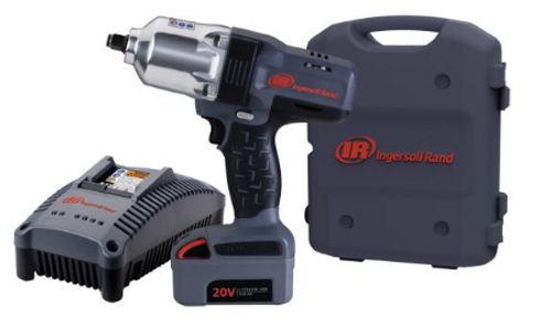 """Ingersoll Rand W7150-K22 Cordless Socket Retainer Ring Anvil Impact Wrench Kit 