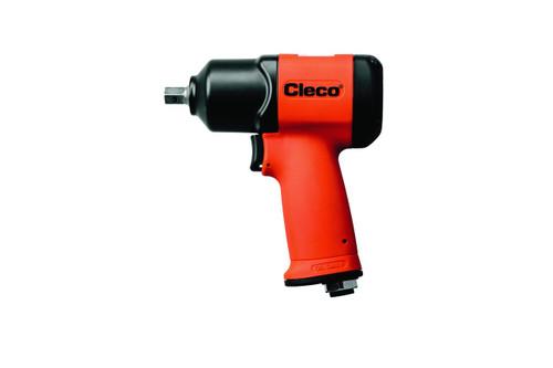 "Cleco CV-375R Pneumatic Pistol Grip Impact Wrench | CV Composite Series | 8,000 RPM | 1,600 BPM | 3/8"" Drive"