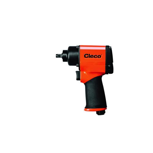 "Cleco CWM-375R Pneumatic Pistol Grip Impact Wrench | CWM Metal Housing Series | 12,000 RPM | 1,400 BPM | 3/8"" Retaining Ring Drive"